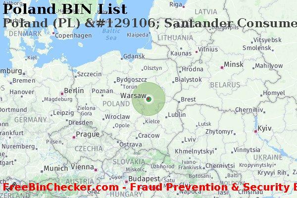 Poland Santander Consumer Bank S A Pl Bank Bin List Mastercard Mc Amex Maestro Discover Dci Visa Card Networks
