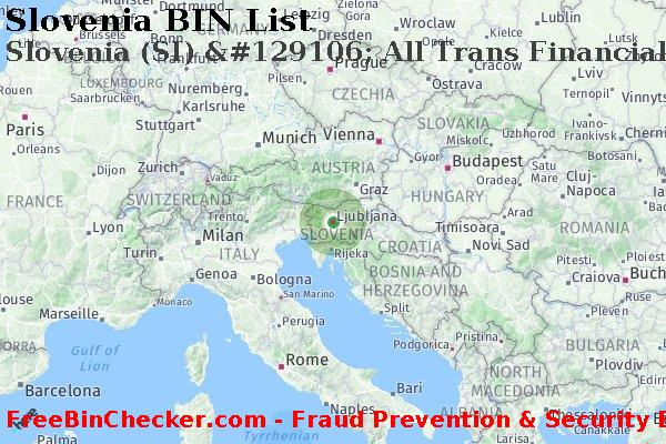 Slovenia All Trans Financial Services Credit Union Ltd Si Bank Bin List Mastercard Mc Amex Maestro Discover Dci Visa Card Networks